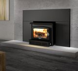 Osburn 1600 Wood Insert w/Large Faceplate and Black Trims