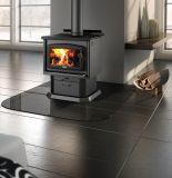Osburn 1600 Wood Stove w/ Black Door Overlay and Pedestal Kit