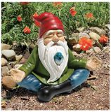 Design Toscano QM13097 Zen Garden Gnome Statue