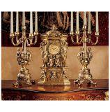 Design Toscano KY95026 Chateau Chambord Clock & Candelabra Set