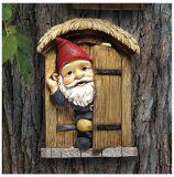 Design Toscano QL4281 Door Gnome Tree Sculpture