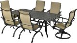 Laguna by Patio Resorts RCDTDY8444-LG1 Laguna 7-Piece Dining Set