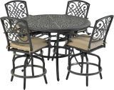 Bridgetown by Patio Resorts RCTMN52-BT1 Bridgetown 5-Piece counter Set
