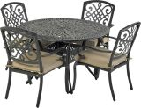 Bridgetown by Patio Resorts RDTMN48-BT1 Bridgetown 5-Piece Dining Set