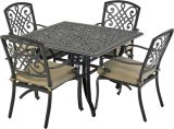 Bridgetown by Patio Resorts SQDTDY44-BT1 Bridgetown 5-Piece Dining Set