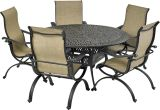 Laguna by Patio Resorts RDTMN60-LG1 Laguna 6-Piece Dining Set