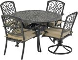 Bridgetown by Patio Resorts RDTMN48-BT2 Bridgetown 5-Piece Dining Set