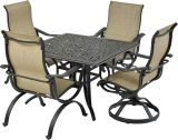 Laguna by Patio Resorts SQDTDY44-LG1 Laguna 5-Piece Dining Set