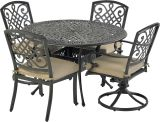 Bridgetown by Patio Resorts RDTMN48-BT4 Bridgetown 5-Piece Dining Set