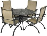 Laguna by Patio Resorts RDTMN48-LG1 Laguna 5-Piece Dining Set