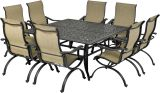 Laguna by Patio Resorts SQDTDY64-LG1 Laguna 9-Piece Dining Set