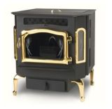 Country Flame Harvester Flex-Fuel Stove with Gold Door