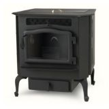 Country Flame Harvester Flex-Fuel Stove with Black Door & Legs