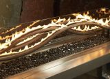 "Outdoor GreatRoom WV-56-BLK-DIY 56"" Linear Black Wave Gas Burner"