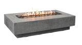 Elementi OFG139LP Hampton Cast Concrete Fire Table - LP