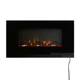"""Well Traveled Living 62906 42"""" Wall Mount Electric Fireplace"""