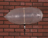 "Chimney Balloon Fireplace Damper 24""X12"" Draft Stopper Pillow Plug"