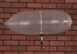 "Chimney Balloon Fireplace Damper 36""X15"" Draft Stopper Pillow Plug"