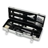 Fiero Barbecue Tools Set by Picnic Time - Platinum Collection