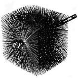 "Square Wire Chimney Brush 1/4"" pt"