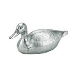 Silver Cast-aluminum Duck Steamer, 1 Qt.